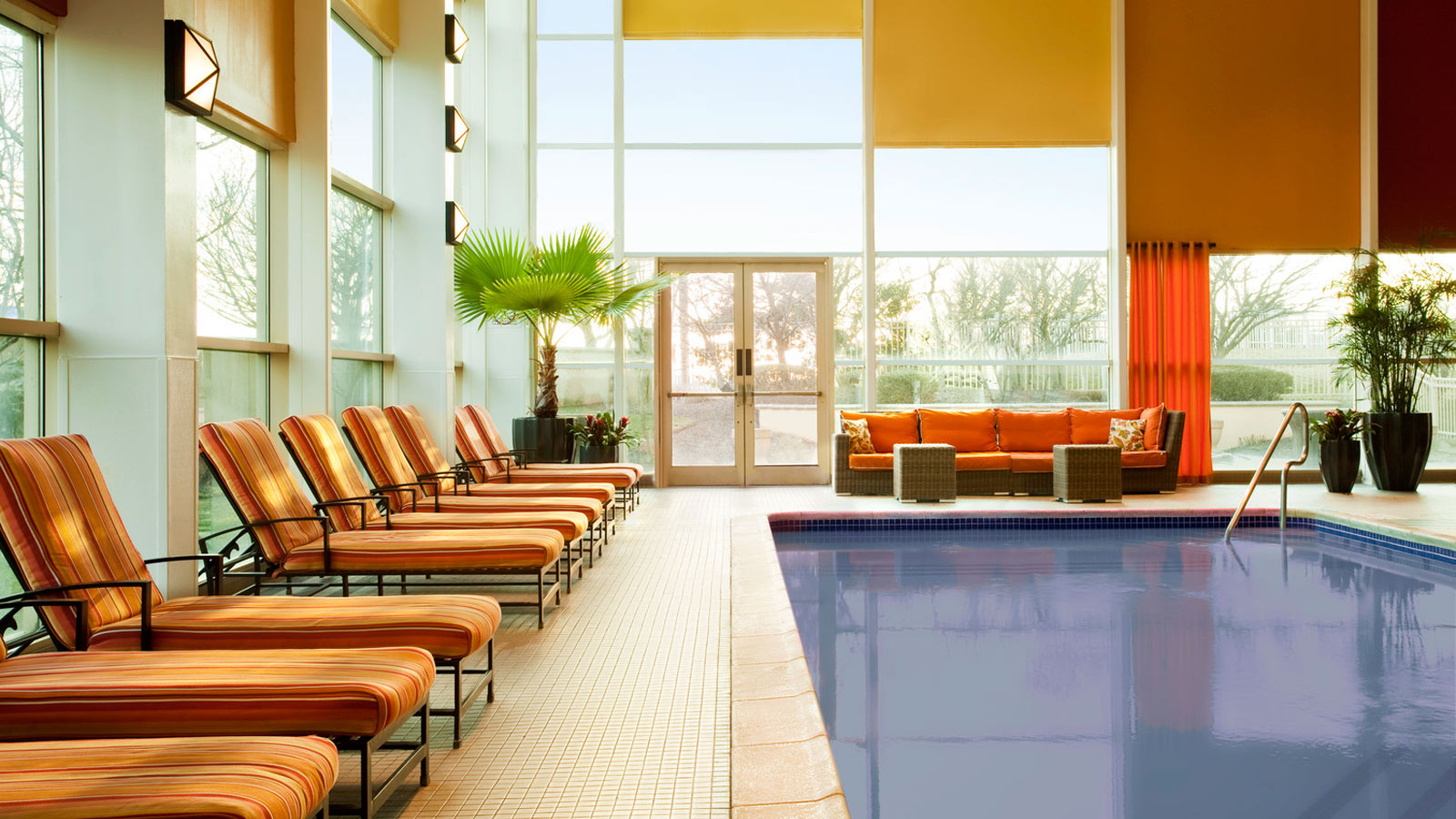 Indoor Heated Pool at Sheraton Atlantic City Hotel