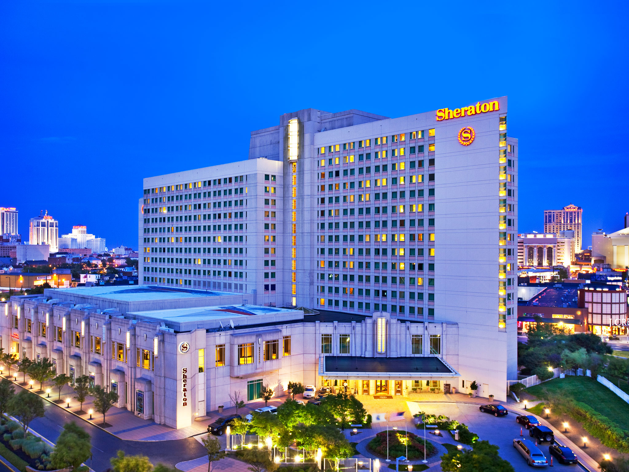 Hotels In Atlantic City Nj Sheraton Convention Center Hotel